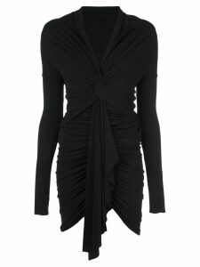 Alexandre Vauthier knotted dress - Black