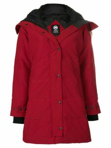 Canada Goose Shelburne parka coat - Red