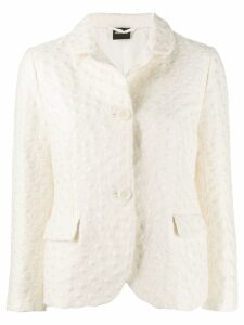 Aspesi single-breasted blazer - White
