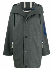 Sofie D'hoore hooded button coat - Grey