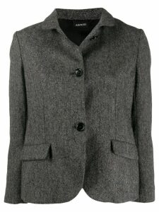 Aspesi fitted wool jacket - Grey