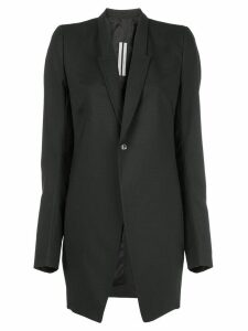 Rick Owens classic elongated blazer - Black