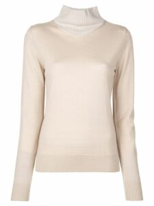 Rosetta Getty layered style sweater - Neutrals