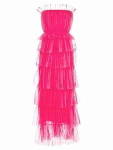 Carolina Herrera ruffled strapless gown - Pink