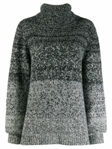 Dusan gradient knit jumper - Black