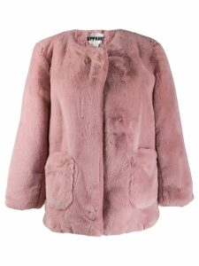 Apparis Jessica faux fur coat - Pink