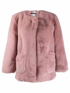 Apparis Jessica faux fur coat - Pink