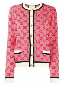Gucci GG knit cardigan - Red