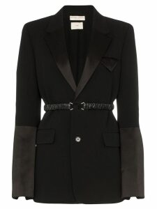 Bottega Veneta belted detail blazer - Black