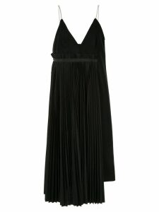 Sacai spaghetti strap dress - Black