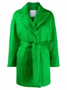 Giada Benincasa felt trenchcoat - Green