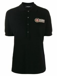 Dsquared2 logo polo shirt - Black