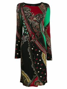 Etro paisley print dress - Black