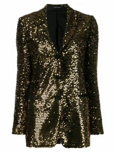Tagliatore sequinned blazer - Black