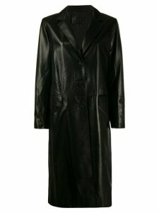 Prada oversized trench coat - Black
