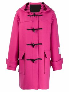 MSGM hooded duffle coat - Pink