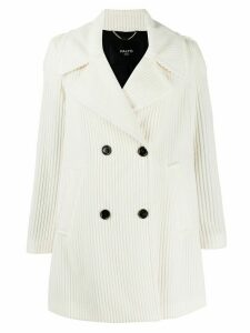 Paltò double buttoned coat - White