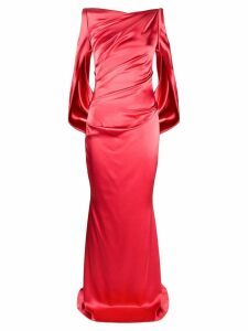 Talbot Runhof Ponce evening dress - Red