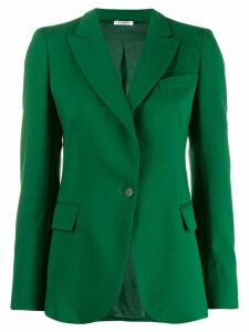 P.A.R.O.S.H. single-breasted blazer - Green