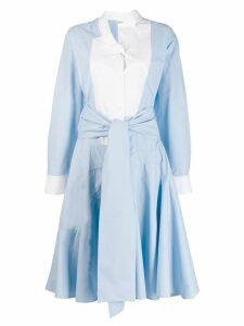 Loewe two-tone shirtdress - Blue