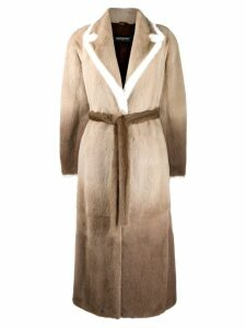 Simonetta Ravizza oversized coat - Brown