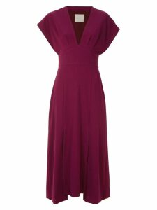 Framed Lawrence midi dress - Red