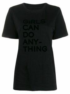 Zadig & Voltaire slogan print T-shirt - Black