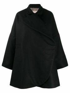 Antonio Marras wrap coat - Black