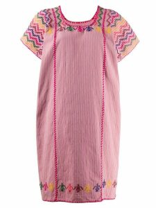 Pippa Holt mid-length kaftan dress - Pink
