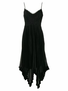 Zimmermann Espionage panelled dress - Black