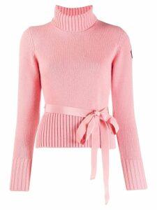 Moncler bow jumper - Pink