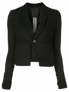 Rick Owens fitted blazer - Black