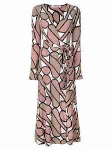 Diane von Furstenberg printed wrap dress - Multicolour