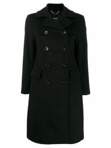 Paltò double buttoned coat - Black