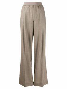 Erika Cavallini high-waisted trousers - Brown