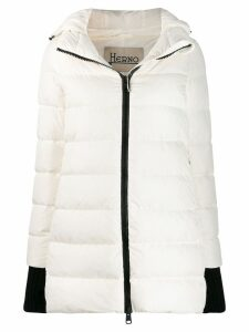 Herno hooded padded coat - White