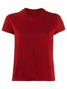 Rick Owens DRKSHDW round neck T-shirt - Red