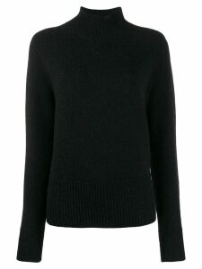Erika Cavallini turtle neck knit sweater - Black