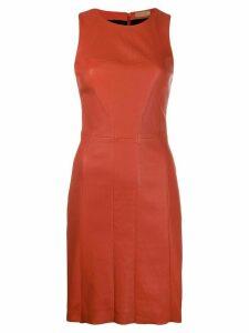 Drome sleeveless midi dress - Orange