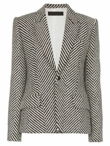 Haider Ackermann striped tailored blazer - White