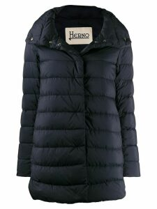 Herno padded mid-length jacket - Blue