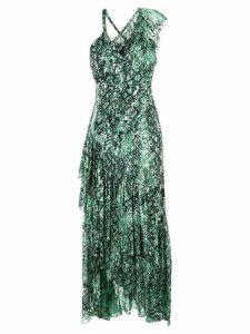 Alice+Olivia Shanel tiered dress - Green