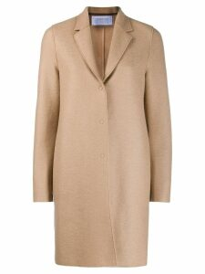 Harris Wharf London single-breasted coat - Neutrals