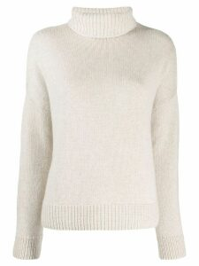 Loro Piana turtleneck jumper - Neutrals