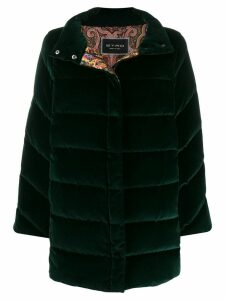 Etro single-breasted coat - Green