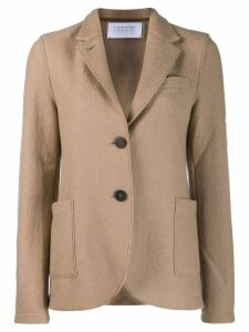 Harris Wharf London single-breasted blazer - Neutrals