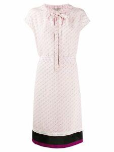 Stella McCartney monogram print dress - Pink