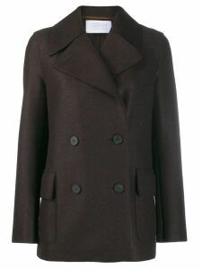 Harris Wharf London double breasted blazer - Brown