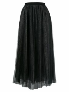 Fabiana Filippi pleated tulle skirt - Black