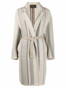 Loro Piana belted coat - Neutrals
